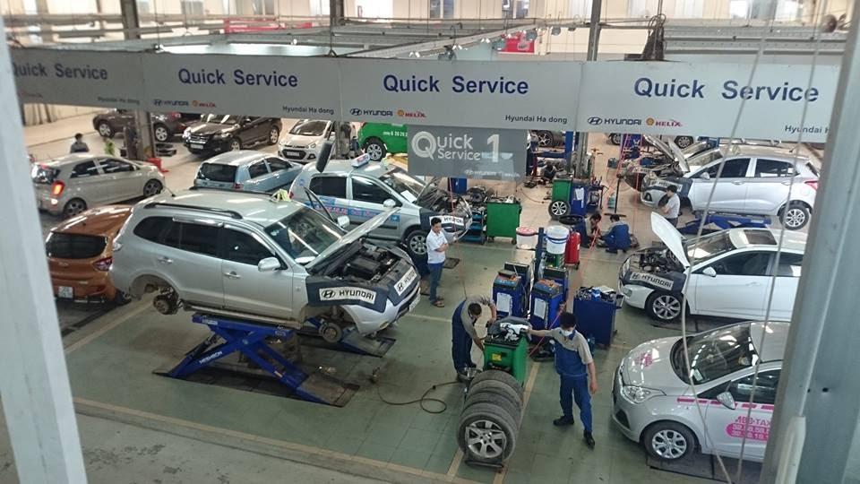 Thủ tục cấp Giấy chứng nhận cơ sở bảo hành, bảo dưỡng ô tô
